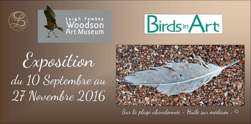 Exposition Birds in Art - Laurence Saunois, artiste peintre animalier